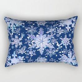 Snowflakes #3 Rectangular Pillow