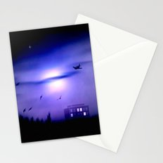 Flight home. Stationery Cards