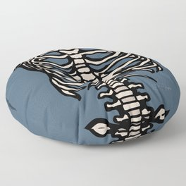 Rib Cage Floor Pillow