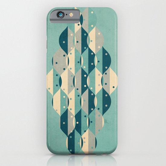 50's floral pattern IV iPhone & iPod Case
