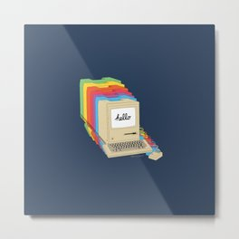 Macintosh Cascade Metal Print