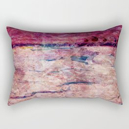 Pink landscape Rectangular Pillow