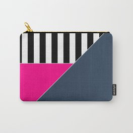 Asymmetrical patchwork 1 Carry-All Pouch