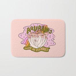 Aquarius Mushroom Bath Mat