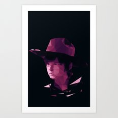 Carl Grimes - The Walking Dead Art Print
