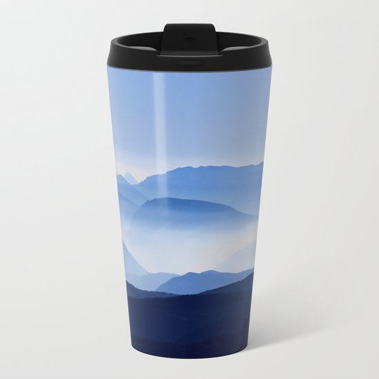 Mountain Shades Metal Travel Mug