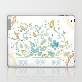Boho floral Laptop & iPad Skin