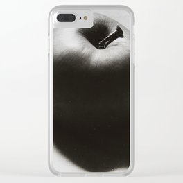 apple and screw Clear iPhone Case