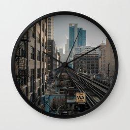 Morning Fader Wall Clock