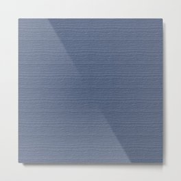 Stonewash Wood Grain Color Accent Metal Print