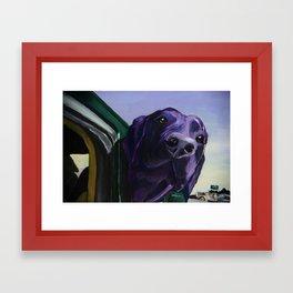 Where Are We Going Now? Framed Art Print