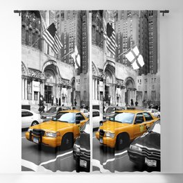 NYC - Yellow Cabs - Avenue Blackout Curtain