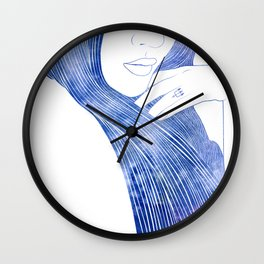 Nereid XXII Wall Clock