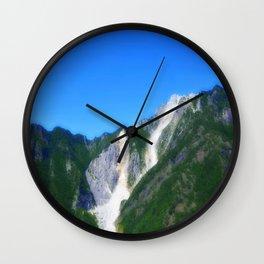 Marble Mountain Wall Clock