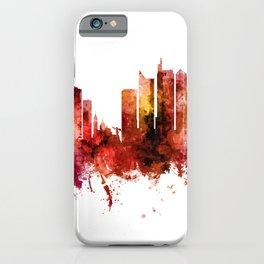 Manila Philippines Skyline iPhone Case