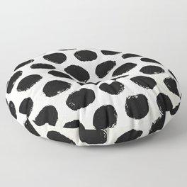 Urban Polka Dots Floor Pillow