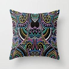 Colourful Night Throw Pillow