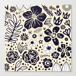 bloom shine blossom Canvas Print