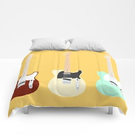 Flat Telecaster 2 Comforters