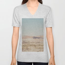 red rock canyon .... Unisex V-Neck