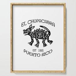 El Chupacabra Serving Tray