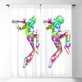 Hip-Hop Dance Blackout Curtain