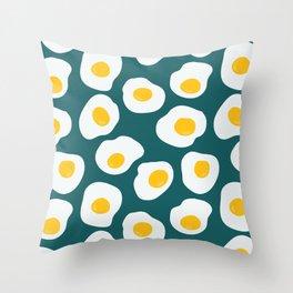 Morning call Throw Pillow