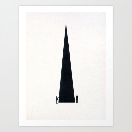 Monument Art Print