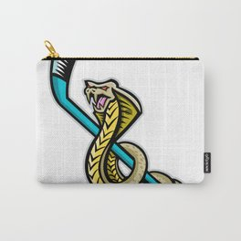 King Cobra Ice Hockey Sports Mascot Carry-All Pouch