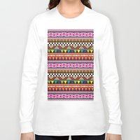 aztec Long Sleeve T-shirts featuring AZTEC by Acus