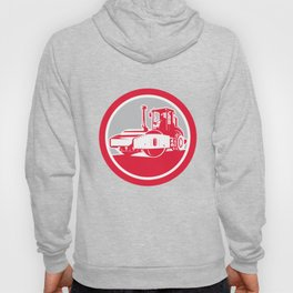 Road Compactor Circle Retro  Hoody