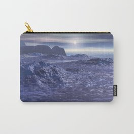 Frozen Sea of Neptune Carry-All Pouch