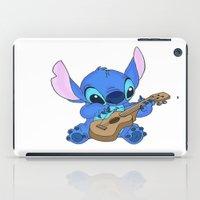 stitch iPad Cases featuring Stitch by Christa Morgan ☽