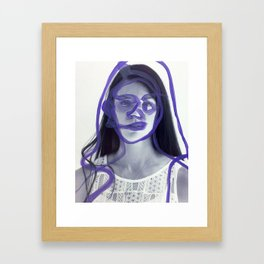 Brigitte Framed Art Print