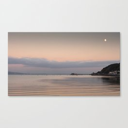 Swansea Bay by moonlight Canvas Print
