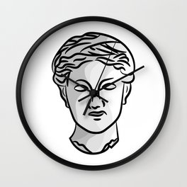 Ceres portrait Wall Clock