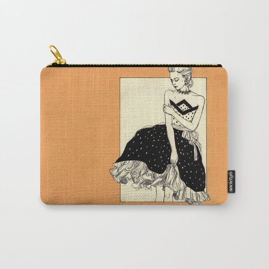 Vintage lady#2 Carry-All Pouch