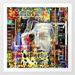 Reality Caustic Art Print