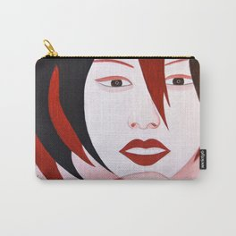 Chatting girl Carry-All Pouch