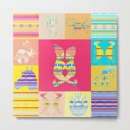 Indian patchworks71 Metal Print