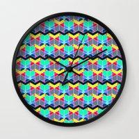 batik Wall Clocks featuring Batik by AZRI AHMAD
