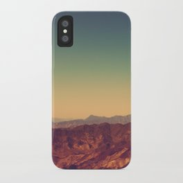 Mountains Clashed iPhone Case