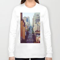 starbucks Long Sleeve T-shirts featuring Which Starbucks? by Phil Provencio