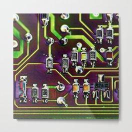 Short Circuit 2 Metal Print