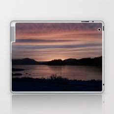 Frozen Sunset 4 - Pale Light Laptop & iPad Skin