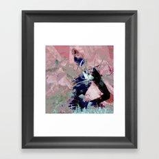 Dream every night of you Framed Art Print