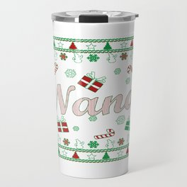 Nana Christmas Travel Mug
