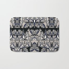 Ikat Glitch no. 1 Bath Mat