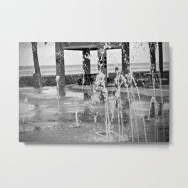 Fountains Metal Print