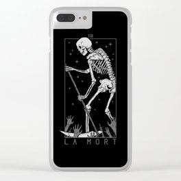 La Mort Clear iPhone Case